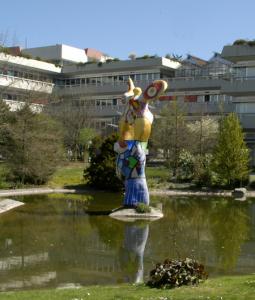 Niki de Saint Phalle, Le Poète et sa Muse, źródło: Uniwersytet w Ulm