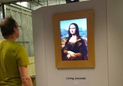 Gioconda ożyje. Francuscy wynalazcy stworzyli interaktywny obraz Leonarda da Vinci