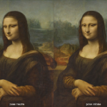 "Mona Lisa z projektu ""Living Mona Lisa""; źródło: livingjoconde.fr"