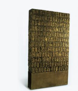 "Parviz Tanavoli, ""Oh, Persepolis"", źródło: Christie's"