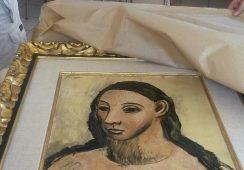 Po udaremnionej próbie nielegalnego wywozu dzieło Pablo Picassa wróciło do Hiszpanii