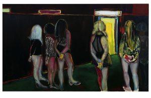 Marlene Dumas, The Visitor, 1995, źródło: Sotheby's