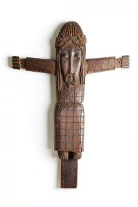 """Antoni Rząsa, Chrystus Ukrzyżowany, z cyklu """"Krzyże"""", 1598/1959, źródło: DESA Unicum"""