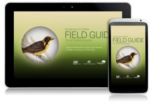 """Aplikacja """"Field guide to australian fauna"""", źródło: Museum Victoria"""