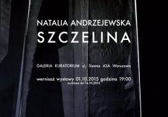 Wystawa Natalii Andrzejewskiej w Galerii Kuratorium