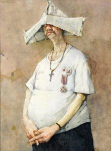 Jerzy Duda-Gracz, Autoportret-ora et colabora, 1982, źródło: materiały organizatora