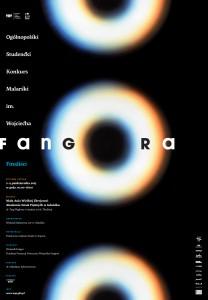 Plakat konkursu malarskiego im. Fangora, źródło: materiały prasowe