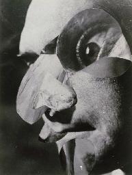 Raoul Hausmann, L'Acteur, 1946, źródło: Christie's