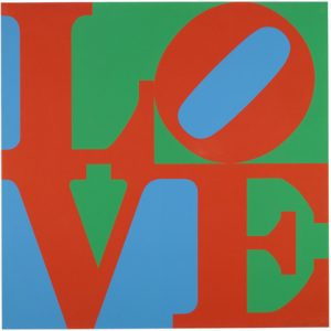 Robert Indiana, LOVE. 1967, źródło: Phillips