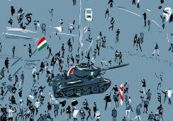 """Csaba Nemes """"Gdy polityka wchodzi w codzienność"""" – wystawa w Galerii MOCAK"""