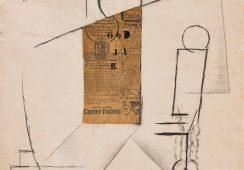 Unikatowy kolaż Picassa na wystawie po raz pierwszy od 40 lat