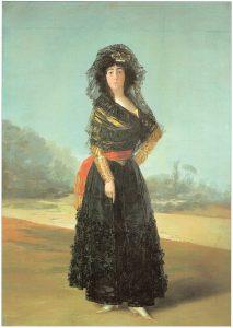 Portrait of the Duchess of Alba, Francisco Goya, 1797