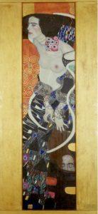 "Gustav Klimt, ""Judyta II"", 1909, źródło: Galeria Ca' Pesaro"