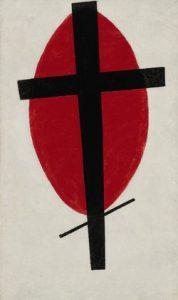 Kazimierz Malewicz, Mistyczny suprematyzm, 1920-22, źródło: Sotheby's