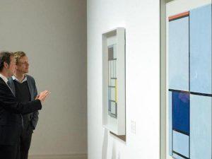 Wystawa Mondriana w Martin Gropius Bau, źródło: artnet.com