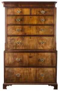 Sekretera - Tallboy, II. poł. XVIII wieku, źródło: materiały organizatora