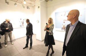 """Wernisaż wystawy """"Pierwsza miłość"""" w Galerii Stalowa, źródło: materiały prasowe"""