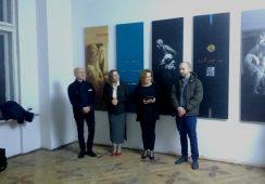 Relacja z wernisażu wystawy malarstwa Marka Wawro i Krzysztofa Kolarza w Galerii 101 Projekt
