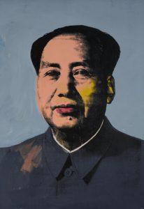 Andy Warhol, Mao, 1972, źródło: Sotheby's