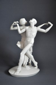 Figura tanczaca para