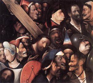 Hieronim Bosch, Chrystus dźwigający krzyż, ok. 1515-16