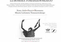 """""""Nowy Jork, Paryż, Warszawa. Miasta Lubomira Tomaszewskiego"""" – konferencja o życiu i twórczości artysty"""