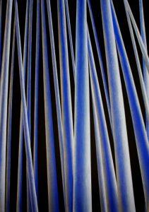 Janina Wierusz Kowalska, Bambusy (Bamboos), akryl na płótnie, 204 x 145 cm, 2013