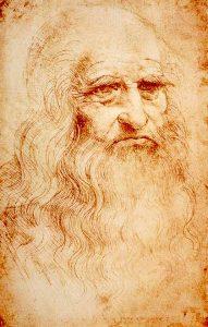 Leonardo da Vinci, Autoportret, 1513