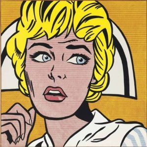 Roy Lichtenstein, Nurse, 1964, źródło: Christie's