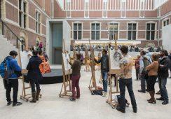 Zamiast fotografować – rysuj. Akcja holenderskiego Rijksmuseum