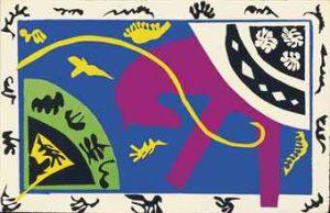 Henri Matisse, jedna z odbitek z cyklu Jazz, źródło: Christie's