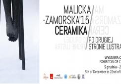 """Wystawa ceramiki Anny Malickiej – Zamorskiej """"Po drugiej stronie lustra"""" w mia ART Gallery"""