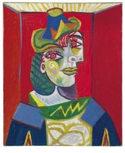 Pablo Picasso, Kobiece popiersie, 1938, źródło: Christie's
