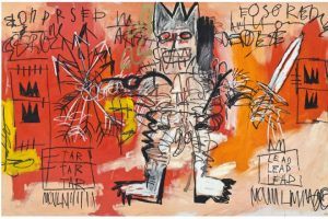 Jean-Michel Basquiat, Untitled, źródło: Christie's