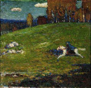 Wassily Kandinsky, Der Blaue Reiter, 1903