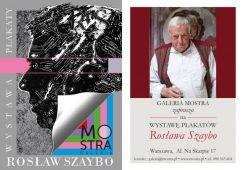 Wystawa plakatów Rosława Szaybo w Galerii Mostra