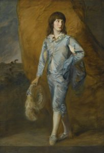 Thomas Gainsborough, The Blue Page, źródło: Sotheby's
