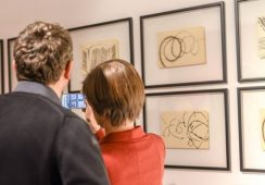 """Wystawa malarstwa i rysunku Hałas'16 """"Wspomnienie"""" w mia ART Gallery we Wrocławiu – relacja."""