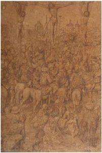 Przyp. Jan van Eyck, Ukrzyżowanie, kolekcja Museum Boijmans Van Beuningen
