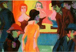 Obraz Kirchnera przejęty przez Nazistów wraca do Drezna