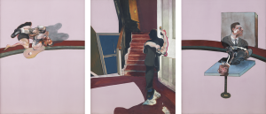 Francis Bacon, In Memory of George Dyer, 1971, źródło: The Estate of Francis Bacon