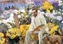 Współczesne ogrody wielkich, czyli wystawa od Moneta do Matisse'a w The Royal Academy of Arts