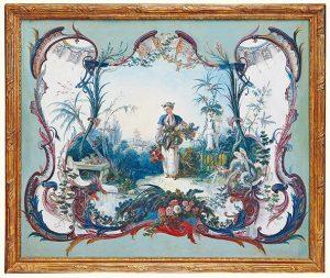 François Boucher, La Marchande de Fleurs, ok. 1743, źródło: Sotheby's