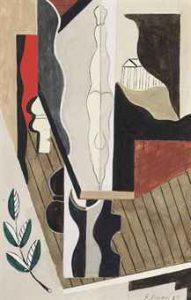 """Francis Bacon, """"Watercolour"""" 1929. Źródło: Christie's"""
