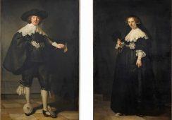 160 milionów euro za parę obrazów  Rembrandta