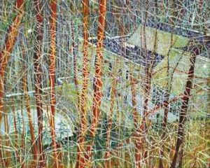 Peter Doig, The Architect's Home in the Ravine, źródło: Christie's
