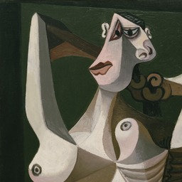 Pablo Picasso, Kobieta czesząca włosy, 1940, źródło: materiały prasowe MoMA