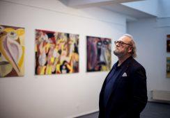"""Wernisaż wystawy """"Kalejdoskop"""" Wojciecha TUT Chechlińskiego w Warszawie – fotorelacja"""