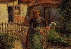 Obraz Camille'a Pissarro skradziony podczas wojny wraca do Francji