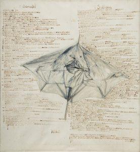 "Tadeusz Kantor, Z cyklu ""Multipart"", 1970-1971, źródło: DESA Unicum"